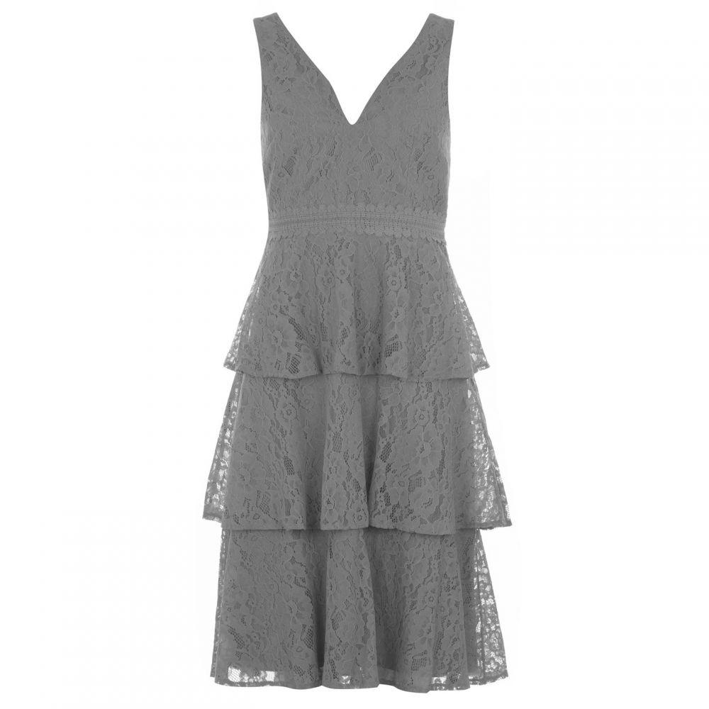 リトル ミストレス Little Mistress レディース ワンピース ティアードドレス ワンピース・ドレス【Tiered Midi Dress】WATERLILY