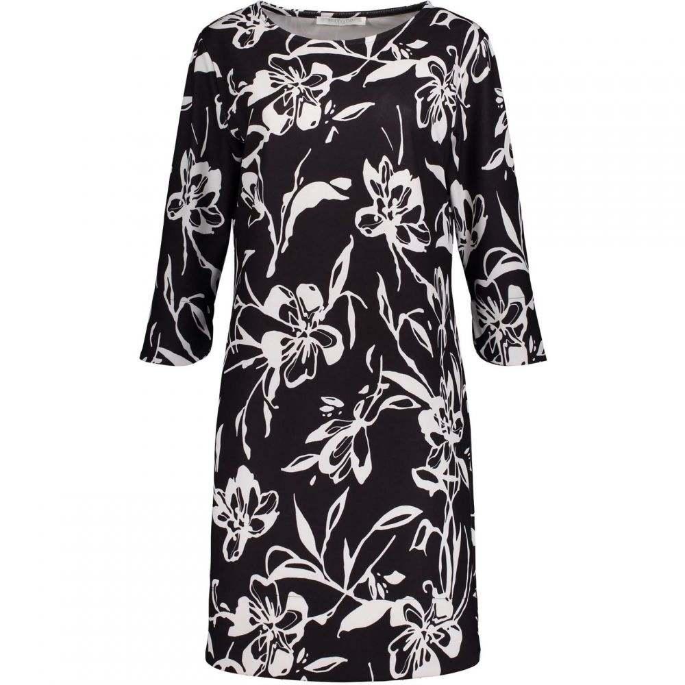 ベティー バークレイ Betty Barclay レディース ワンピース ワンピース・ドレス【Monochrome Print Dress】Black/White