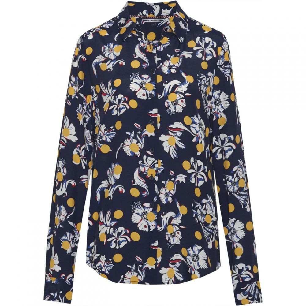 トミー ヒルフィガー Tommy Hilfiger レディース ブラウス・シャツ トップス【Rae Flower Print Shirt】Navy