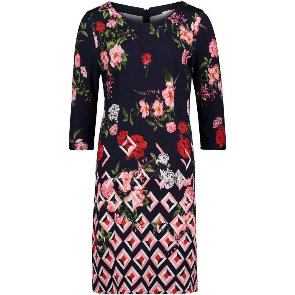 ベティー バークレイ Betty Barclay レディース ワンピース ワンピース・ドレス【Floral Print Jersey Dress】Multi-Coloured