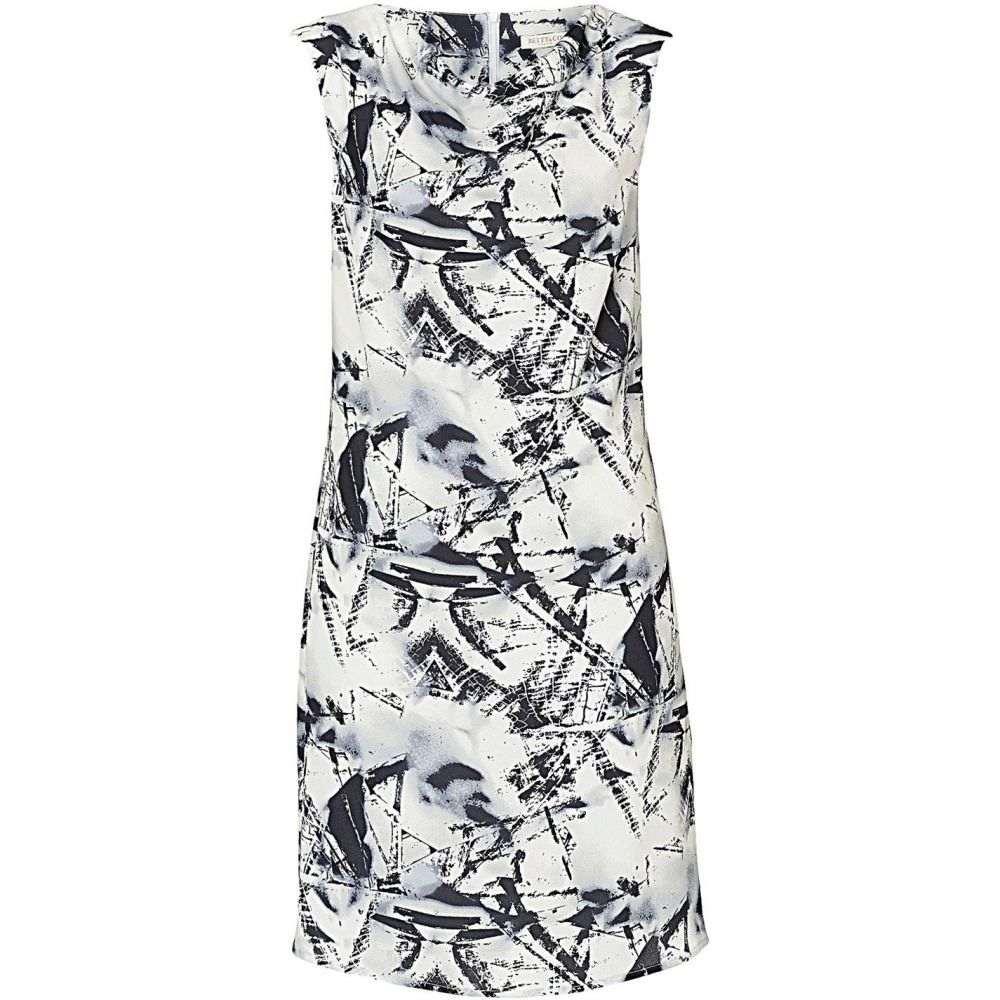 ベティー バークレイ Betty Barclay レディース ワンピース シフトドレス ワンピース・ドレス【Printed Crepe Shift Dress】Blue