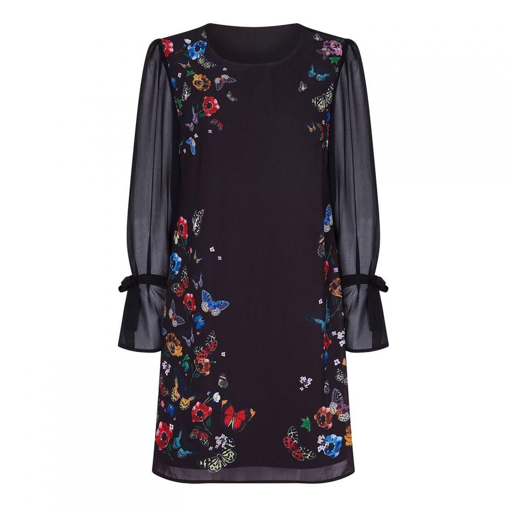 ユミ Yumi レディース ワンピース ワンピース・ドレス【Nature Floral Dress】Black