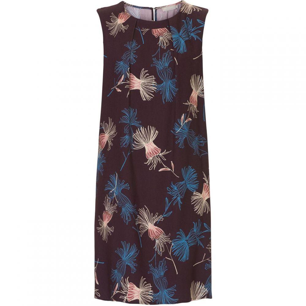 ベティー バークレイ Betty Barclay レディース ワンピース ワンピース・ドレス【Floral Print Dress】Purple