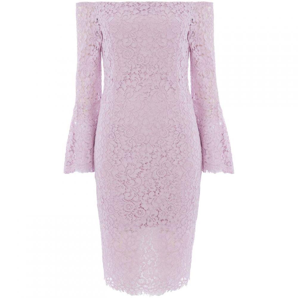 バルドー Bardot レディース ワンピース ワンピース・ドレス【Solange lace dress】Lilac