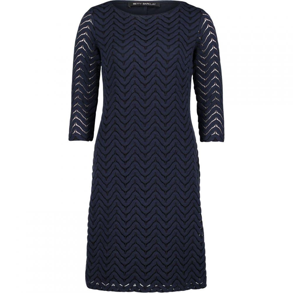 ベティー バークレイ Betty Barclay レディース ワンピース ワンピース・ドレス【Textured lace dress】Dark Sky
