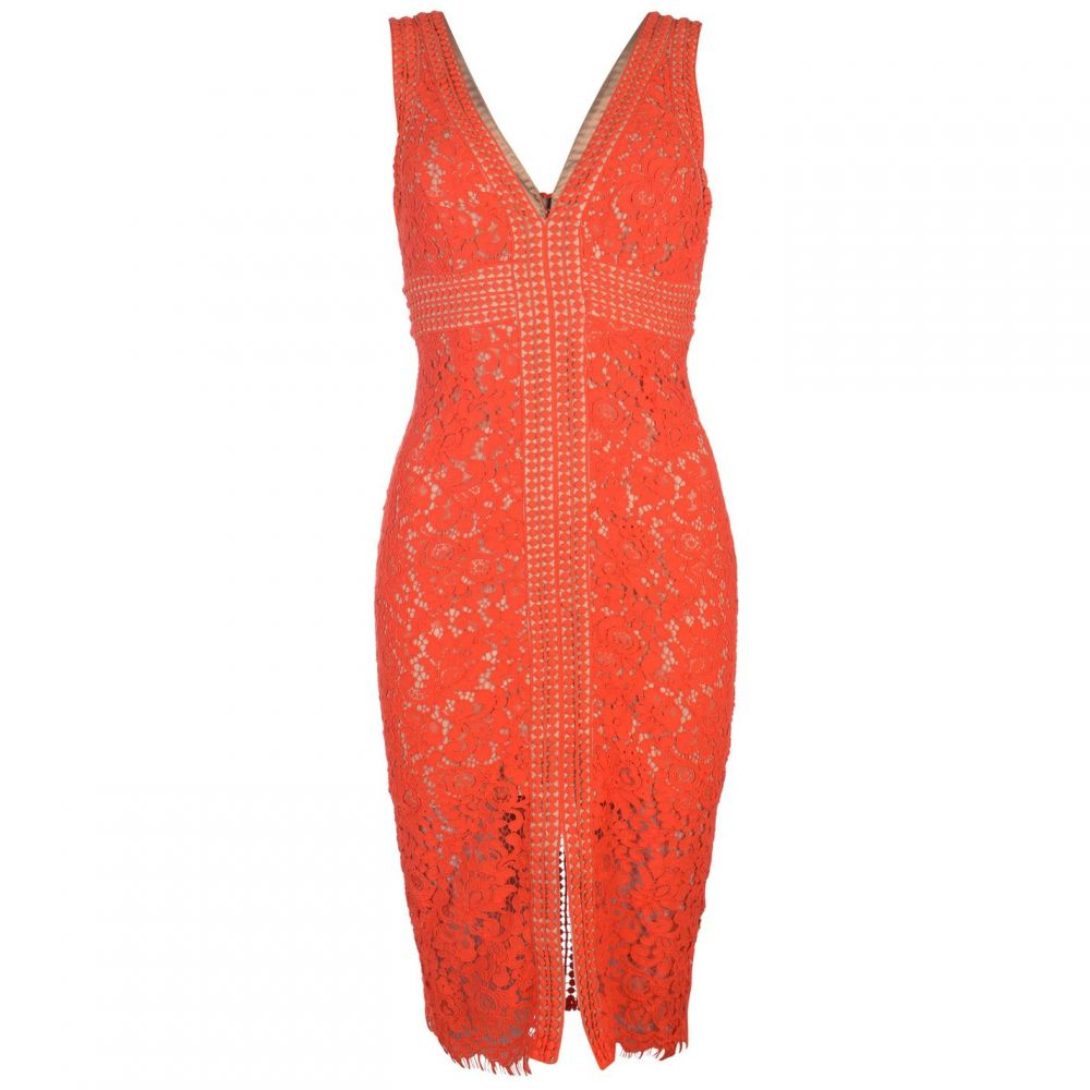 バルドー Bardot レディース ワンピース ワンピース・ドレス【Lace Dress】FLAME ORANGE