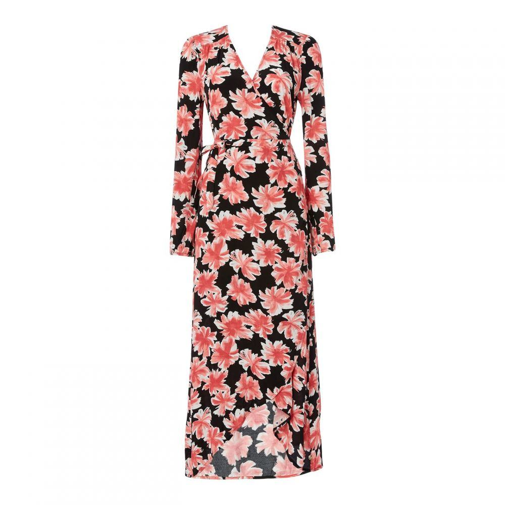 ファビエンヌ シャポット Fabienne Chapot レディース ワンピース ラップドレス ワンピース・ドレス【Natasja P Wrap Dress】FLOWER BLACK