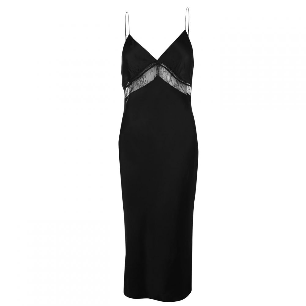 ケンダルアンドカイリー Kendall and Kylie レディース ワンピース ワンピース・ドレス【Lace Dress】Black