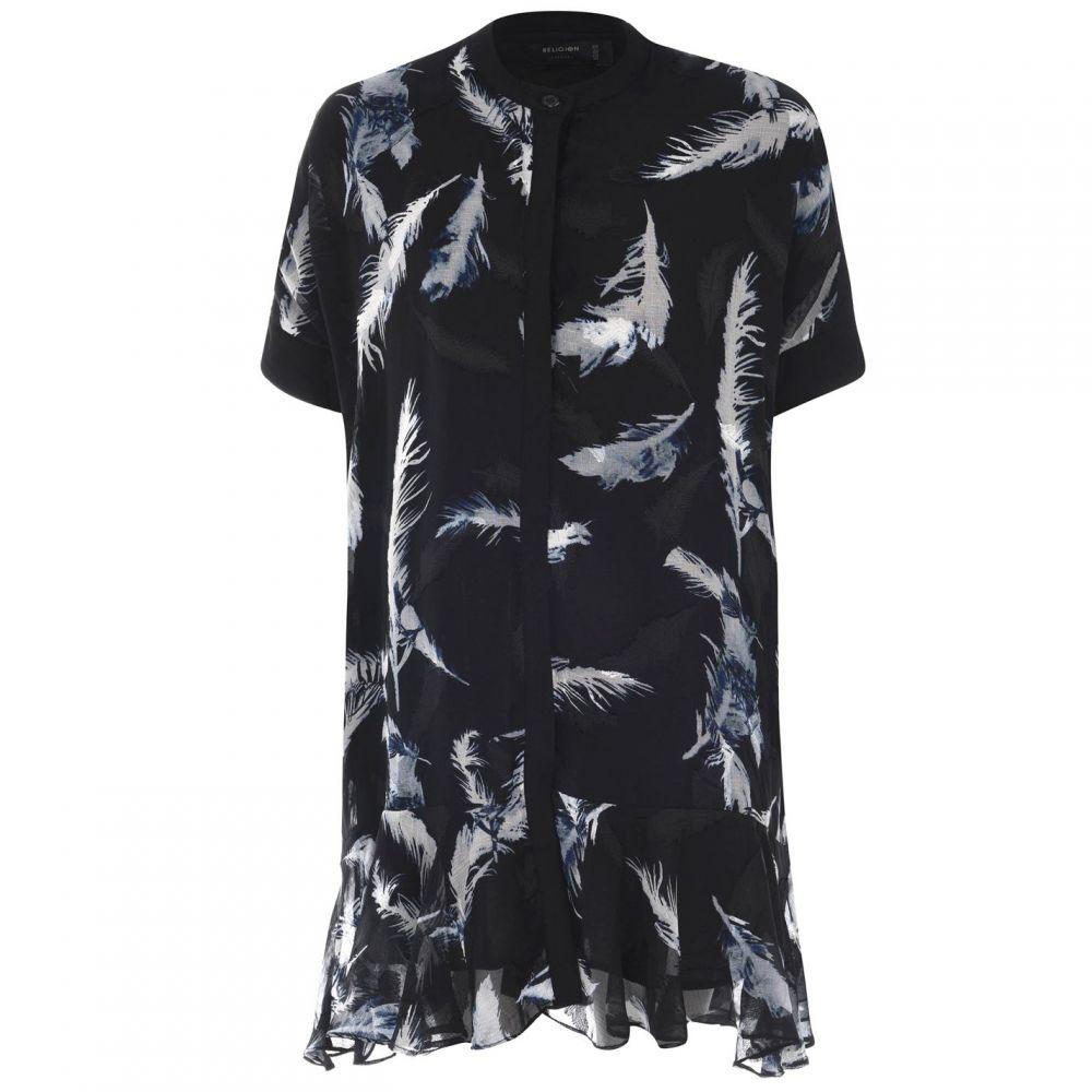 レリジョン Religion レディース ワンピース チュニックドレス ワンピース・ドレス【Tunic Dress】Black/White