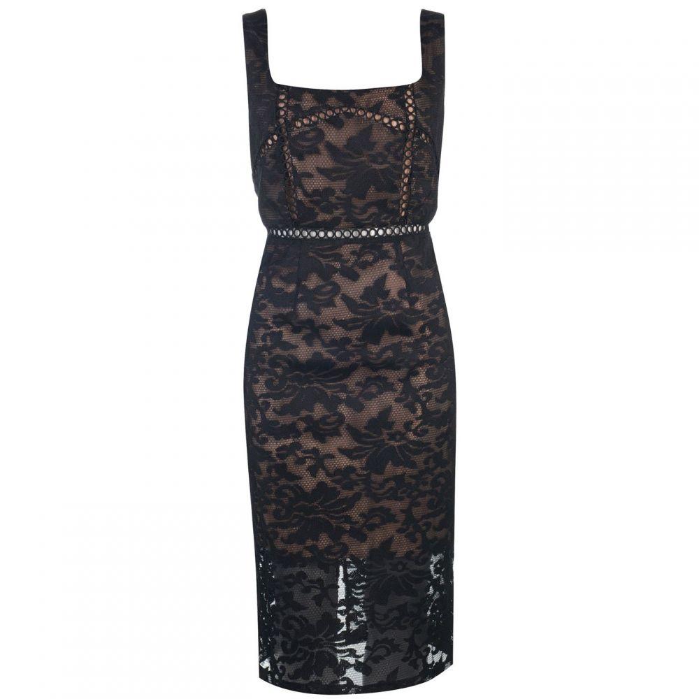 バルドー Bardot レディース ワンピース ワンピース・ドレス【Stella Dress】BLACK