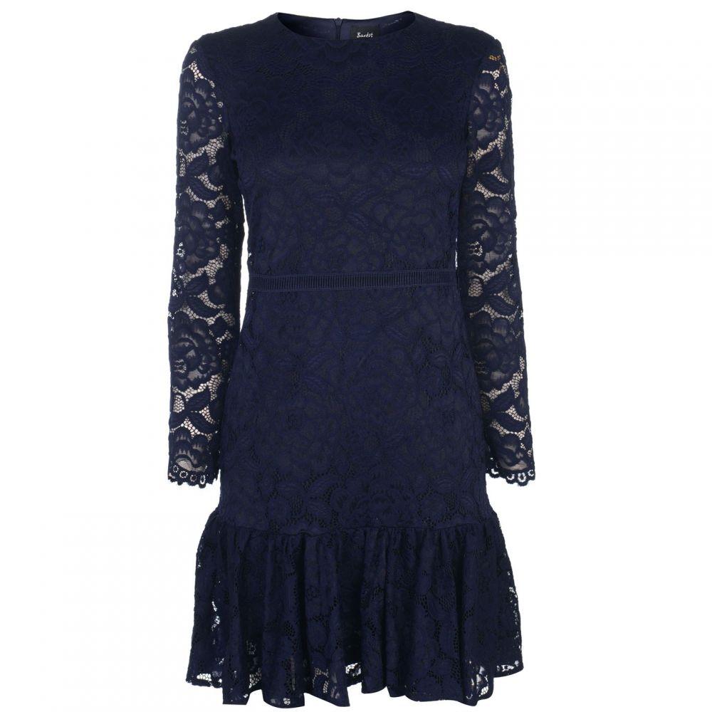 バルドー Bardot レディース ワンピース ワンピース・ドレス【Rubi Lace Dress】NAVY