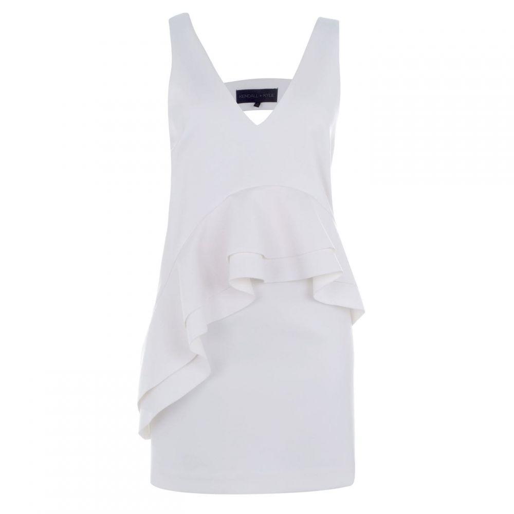 ケンダルアンドカイリー Kendall and Kylie レディース ワンピース ワンピース・ドレス【Dress】Bright White