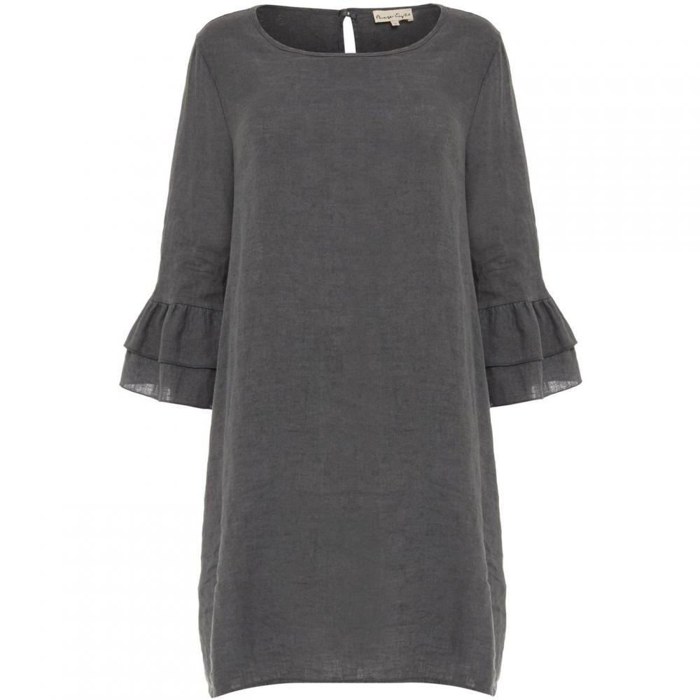 フェイズ エイト Phase Eight レディース ワンピース ワンピース・ドレス【Jen Linen Frill Sleeve Dress】Grey