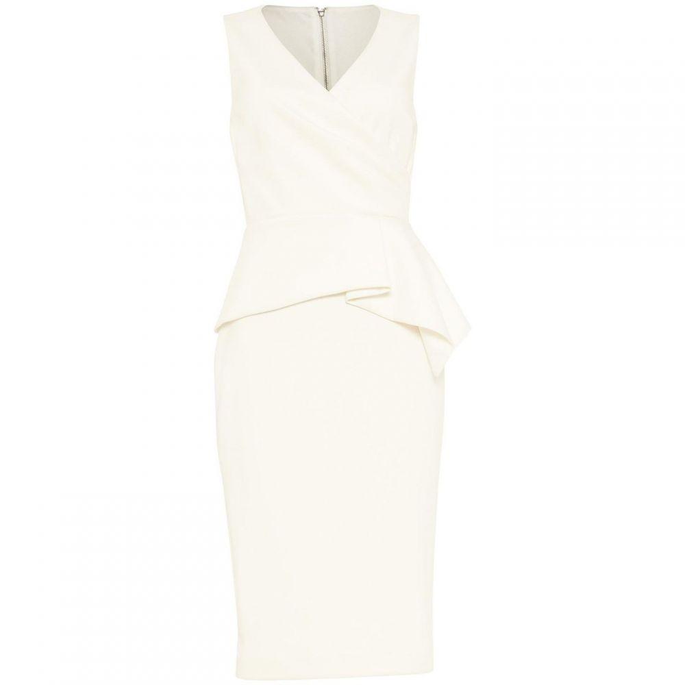 フェイズ エイト Phase Eight レディース ワンピース ワンピース・ドレス【Saskia Scuba Dress】Ivory
