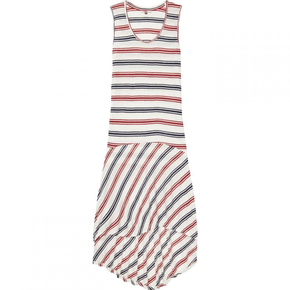 トミー ジーンズ Tommy Jeans レディース ワンピース タンクドレス ワンピース・ドレス【Summer Stripe Tank Dress】White