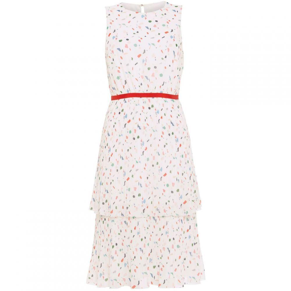 フェイズ エイト Phase Eight レディース ワンピース ワンピース・ドレス【Florence Pleated Dress】White