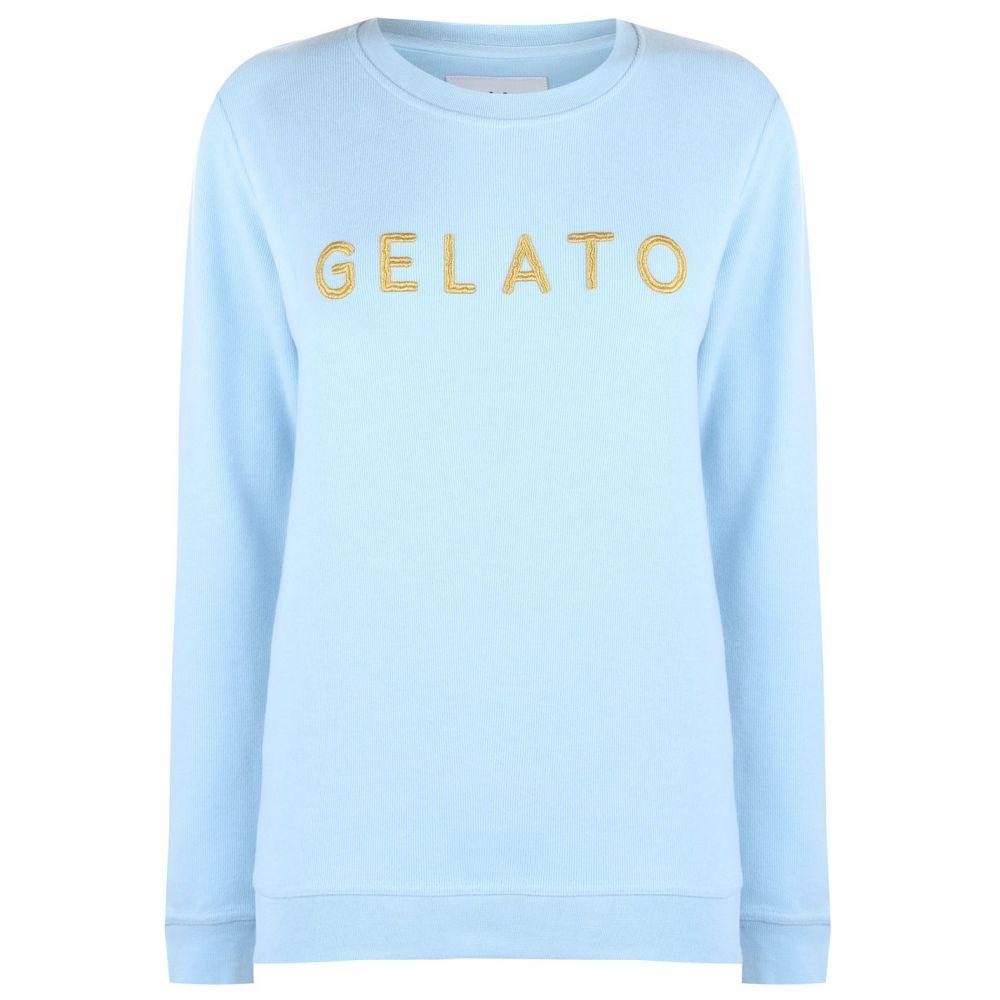 ブレイクセブン Blake Seven レディース スウェット・トレーナー トップス【Gelato Sweatshirt】Blue
