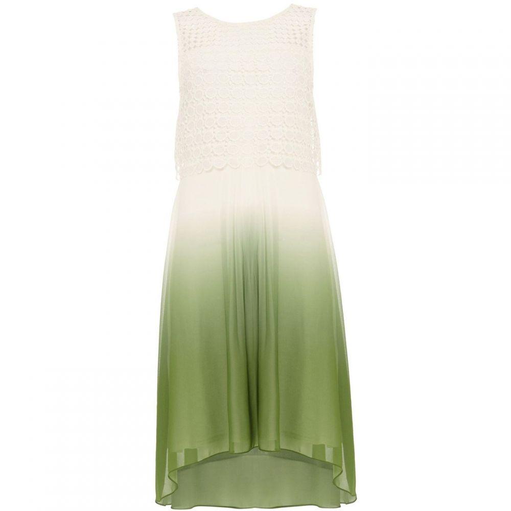 フェイズ エイト Phase Eight レディース ワンピース ワンピース・ドレス【Dorothy Dip Dye Dress】Green