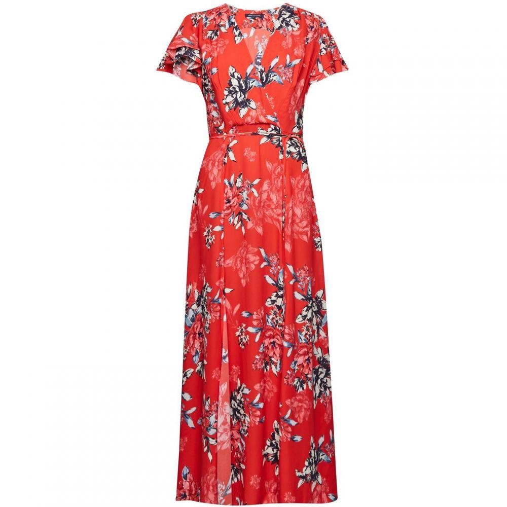 フレンチコネクション French Connection レディース ワンピース ミドル丈 ワンピース・ドレス【Coletta Midi Tea Dress】Flame