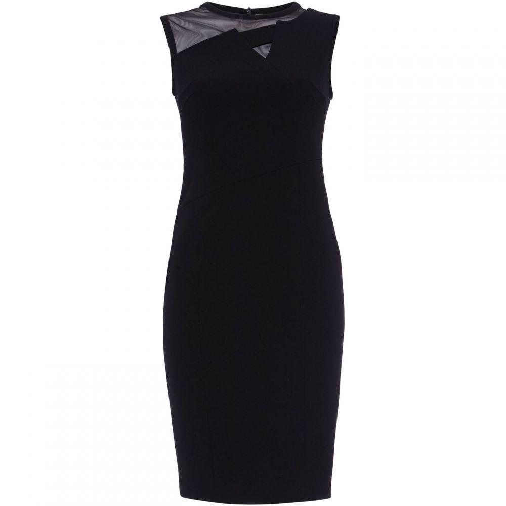 ダンセル Damsel in a Dress レディース ワンピース ワンピース・ドレス【Lowri Mesh Detail Dress】Black