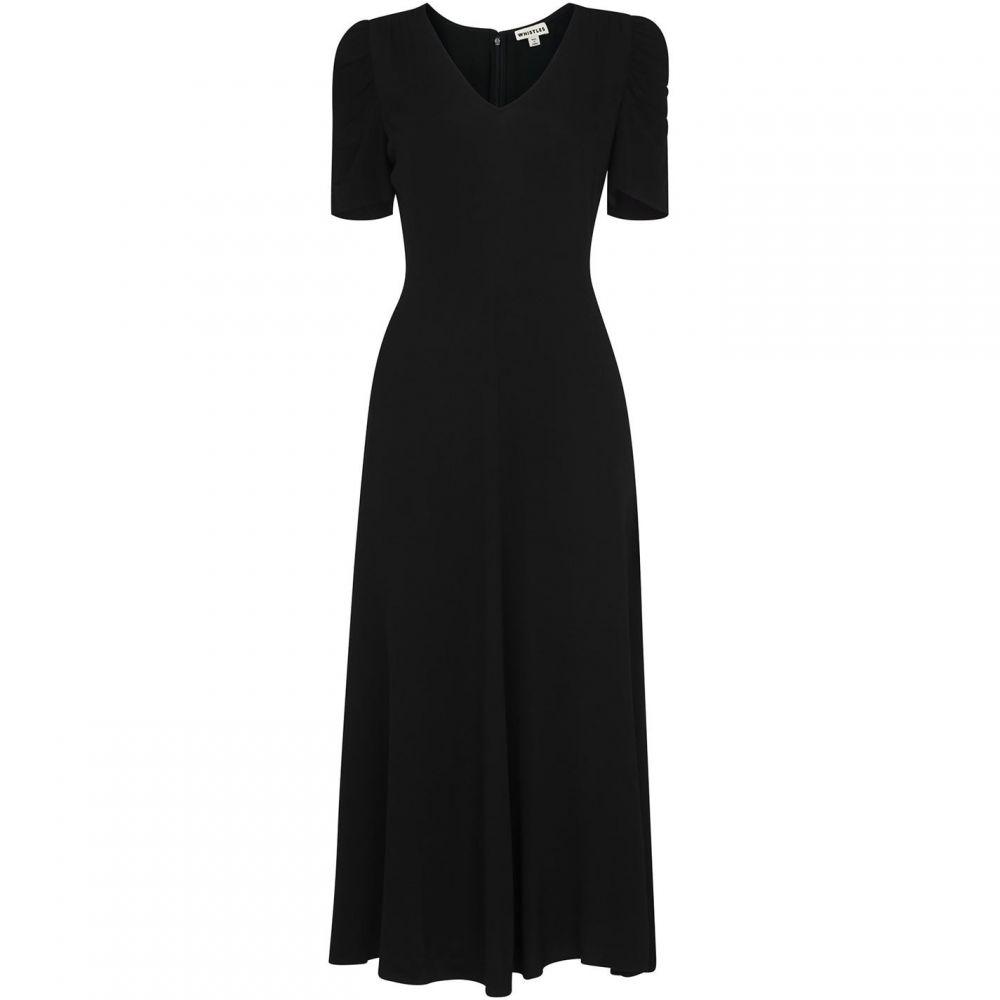 ホイッスルズ Whistles レディース ワンピース ミドル丈 ワンピース・ドレス【Jolanta Midi Dress】Black