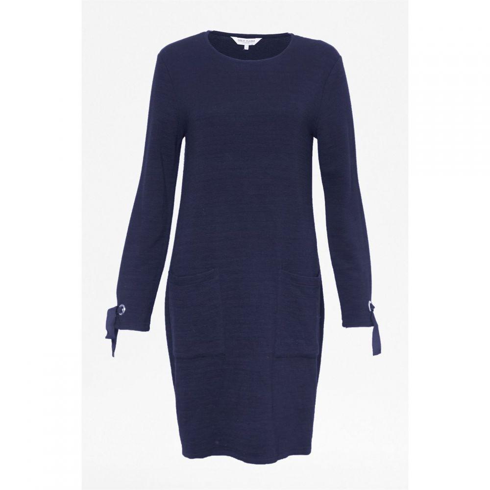 グレート プレインス Great Plains レディース ワンピース ワンピース・ドレス【Ottoman Jersey Dress】Midnight