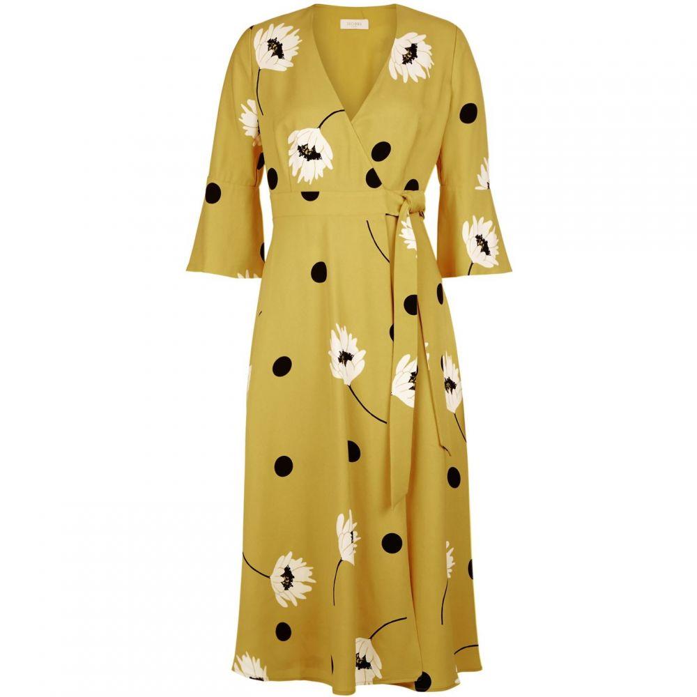 ホッブス Hobbs レディース ワンピース ワンピース・ドレス【Jeanne Dress】Yellow