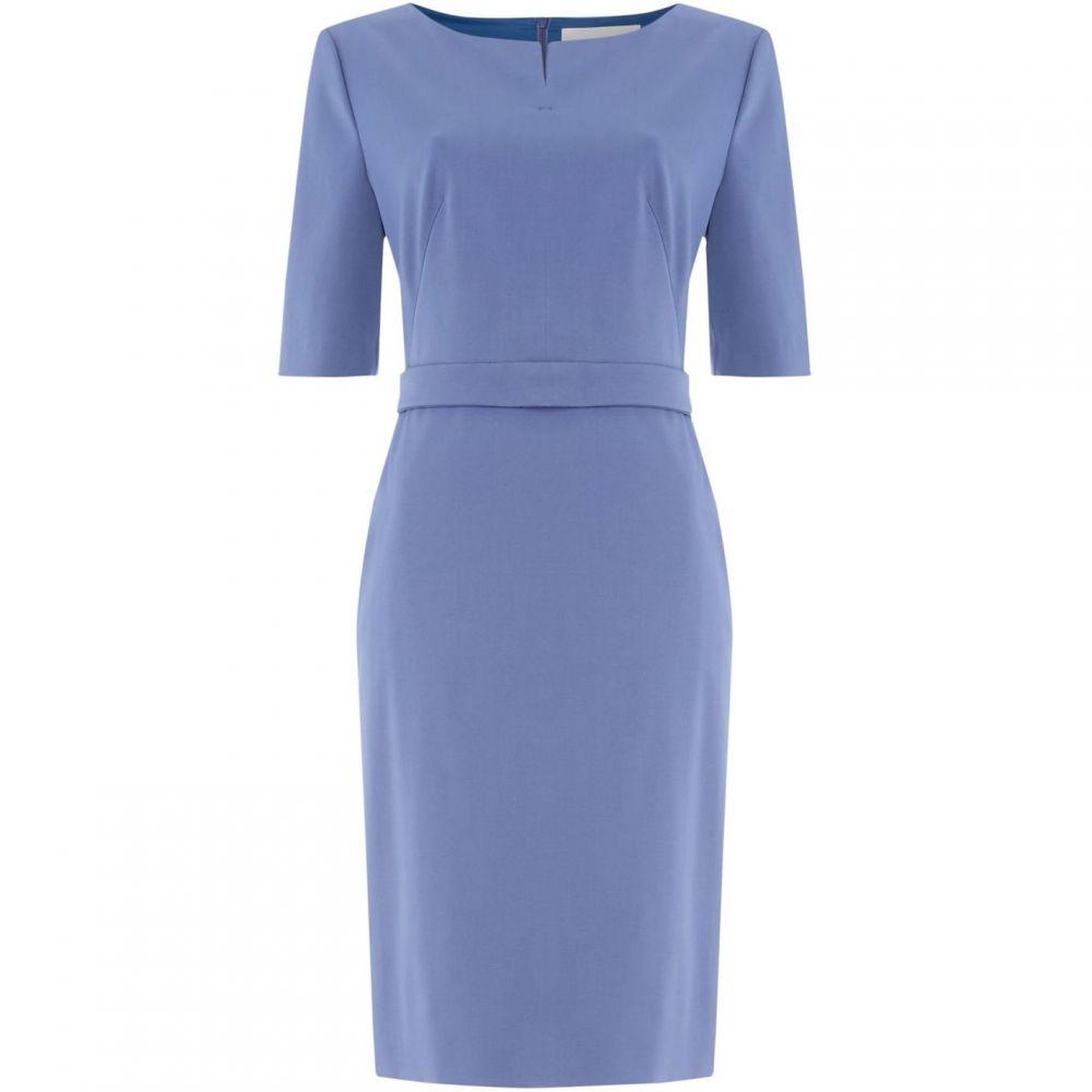 ヒューゴ ボス Boss レディース ワンピース ワンピース・ドレス【Debaly waist detail dress】Blue
