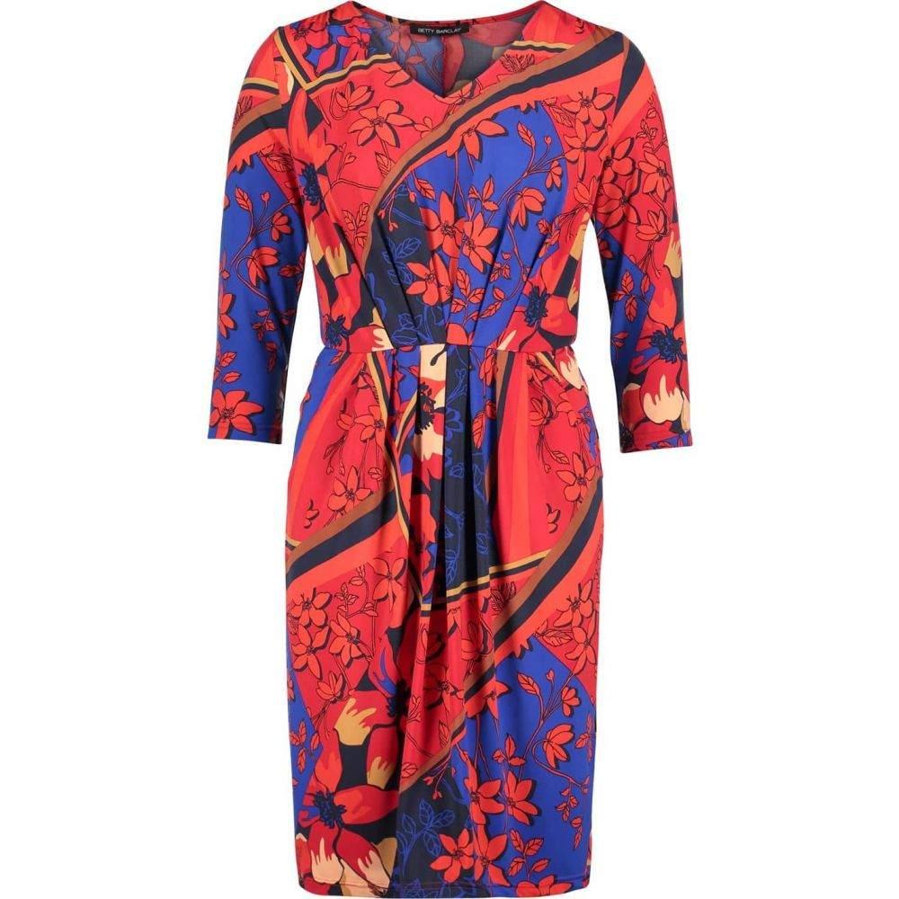 ベティー バークレイ Betty Barclay レディース ワンピース ワンピース・ドレス【Floral print dress】Dark Blue/Red