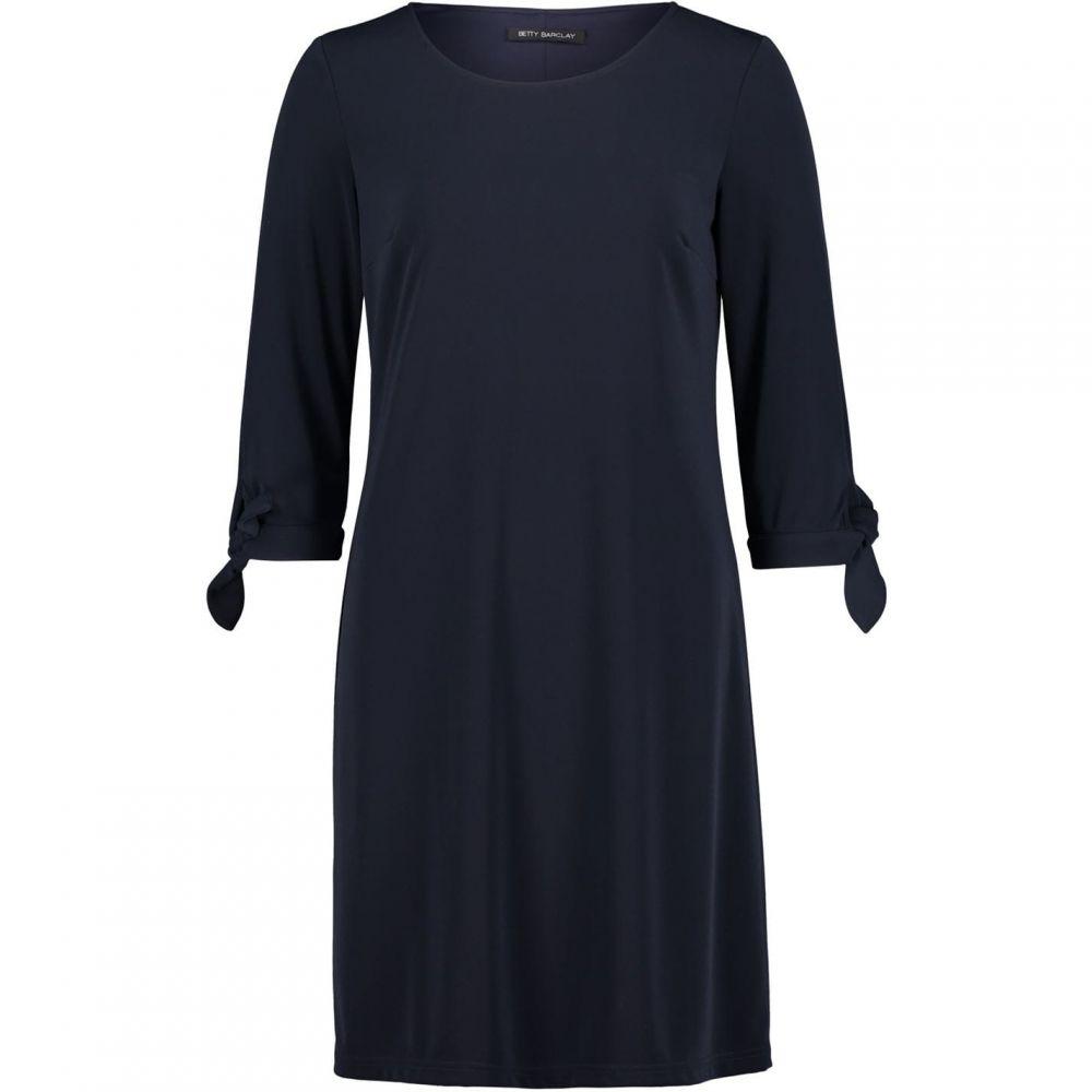 ベティー バークレイ Betty Barclay レディース ワンピース シフトドレス ワンピース・ドレス【Jersey shift dress】Dark Sky
