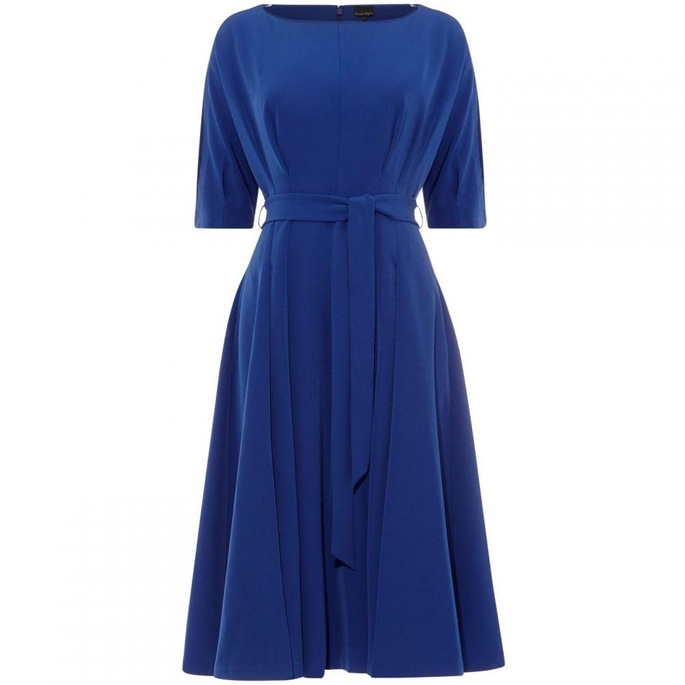 フェイズ エイト Phase Eight レディース ワンピース ワンピース・ドレス【Cleo Tie Waist Dress】Cobalt