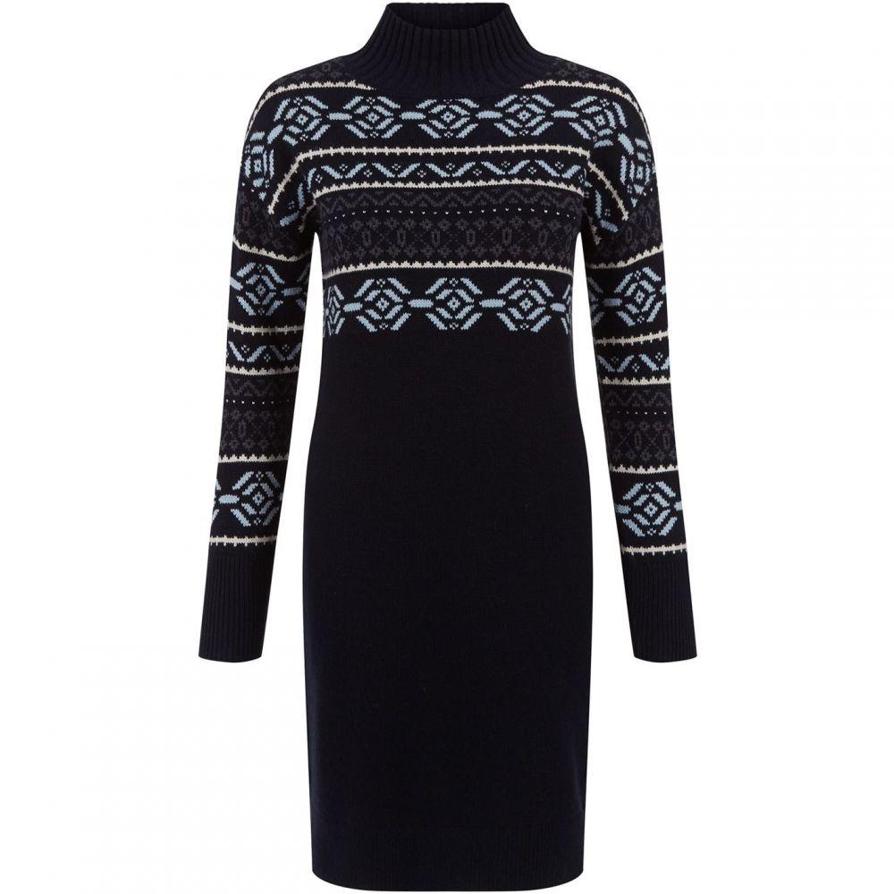 ホッブス Hobbs レディース ワンピース ワンピース・ドレス【Bexley Knitted Dress】Navy Multi