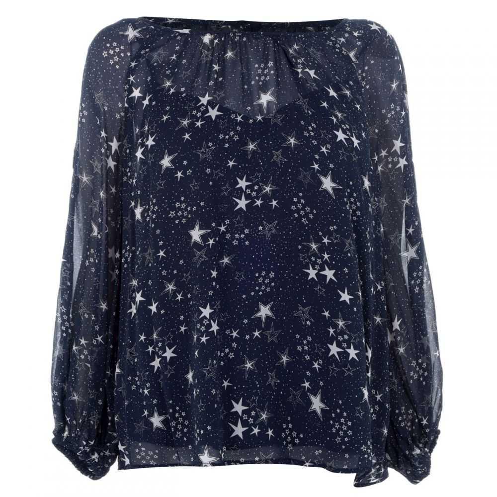 ベルベット グラハム&スペンサー Velvet レディース Tシャツ トップス【Star Print T-Shirt】Star Print