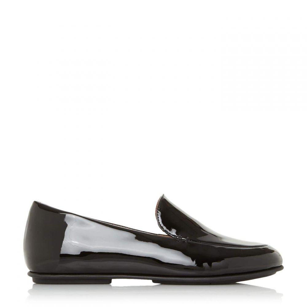 フィットフロップ Fitflop レディース ローファー・オックスフォード シューズ・靴【Lena Loafer Round Toe Loafers】Black