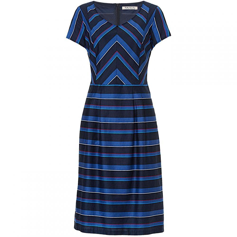 ベティー バークレイ Betty Barclay レディース ワンピース シフトドレス ワンピース・ドレス【Striped shift dress】Blue