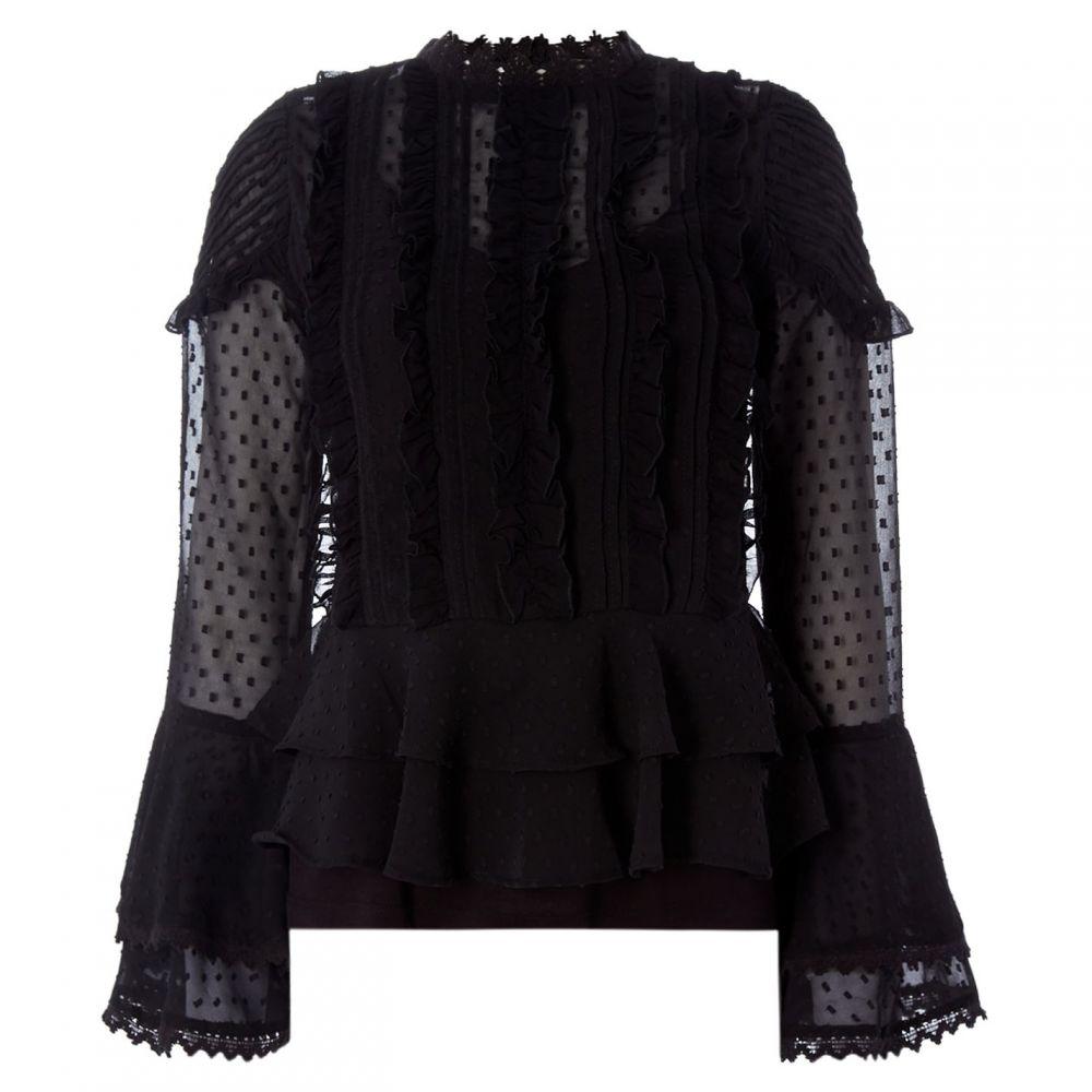 ビバ Biba レディース ブラウス・シャツ トップス【Victorian Blouse】Black