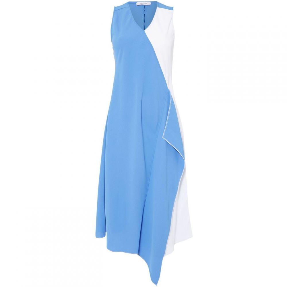イブルース Iblues レディース ワンピース ワンピース・ドレス【Spira frill front dress】Blue
