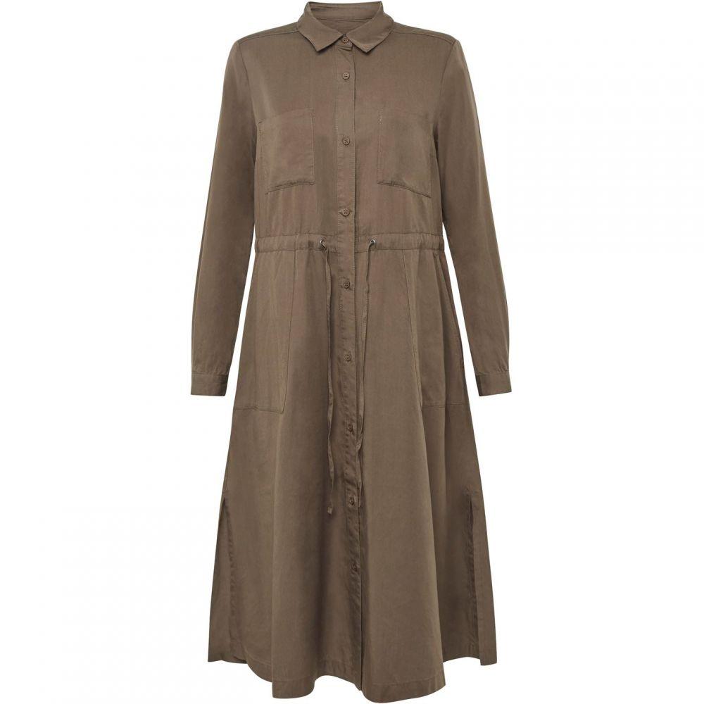 フレンチコネクション French Connection レディース ワンピース シャツワンピース ワンピース・ドレス【Aventine Plains Midi Shirt Dress】Green