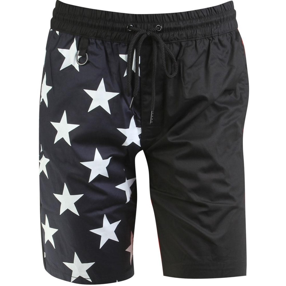 パブリッシュ Publish ボトムス ショートパンツ【Publish x RBW Wren Enlarged Star Pattern Shorts 】