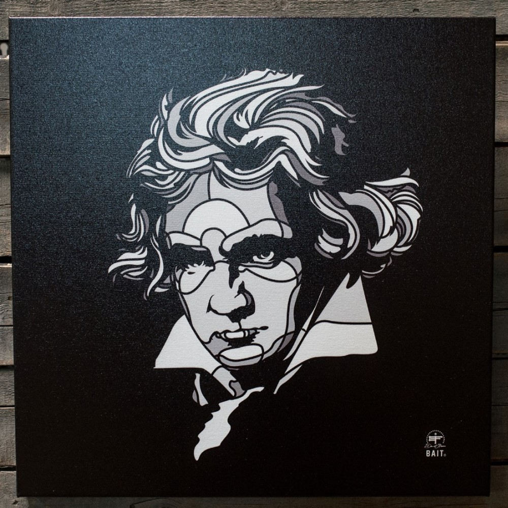Toys and Collectibles おもちゃグッズ おもちゃ  おもちゃグッズ Toys and Collectibles おもちゃ 【BAIT x David Flores 24 Inch Canvas - Beethoven 】