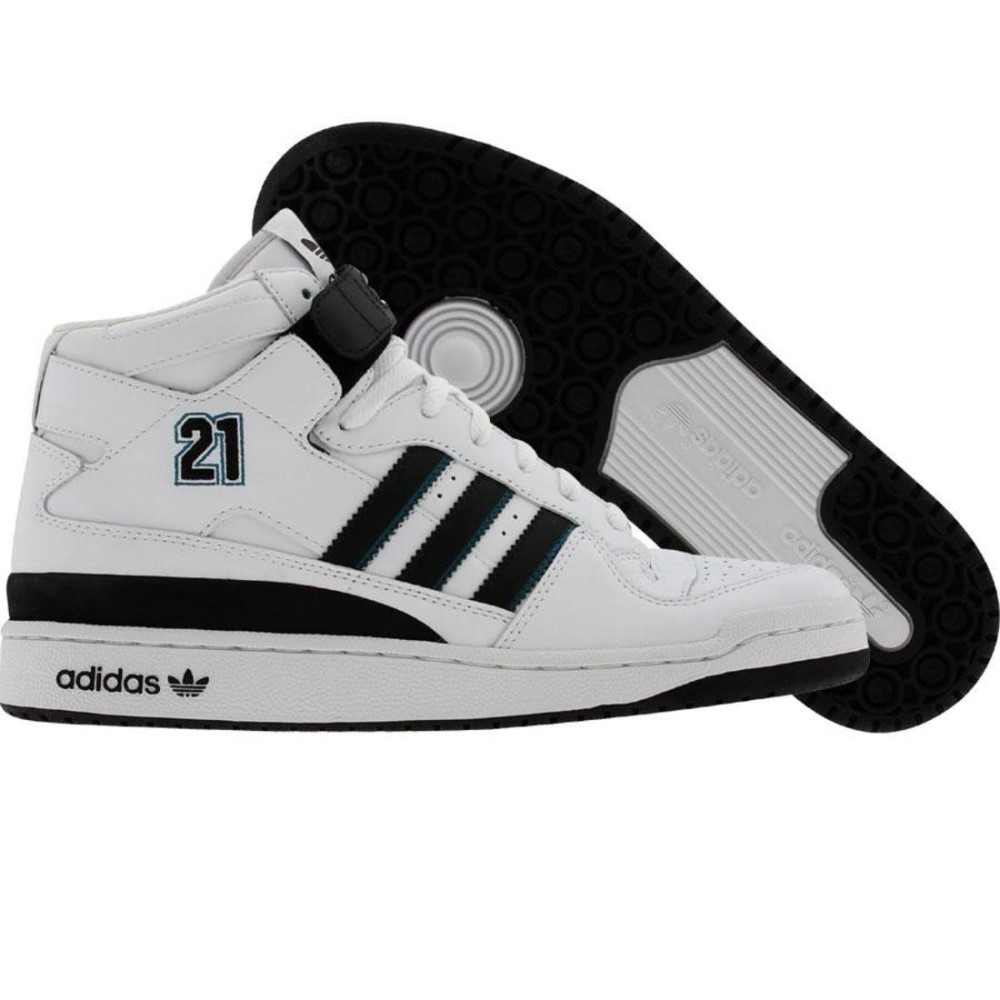 アディダス メンズ シューズ・靴 スニーカー【Adidas Forum Mid BB - Kevin Garnett】r white / black / reef