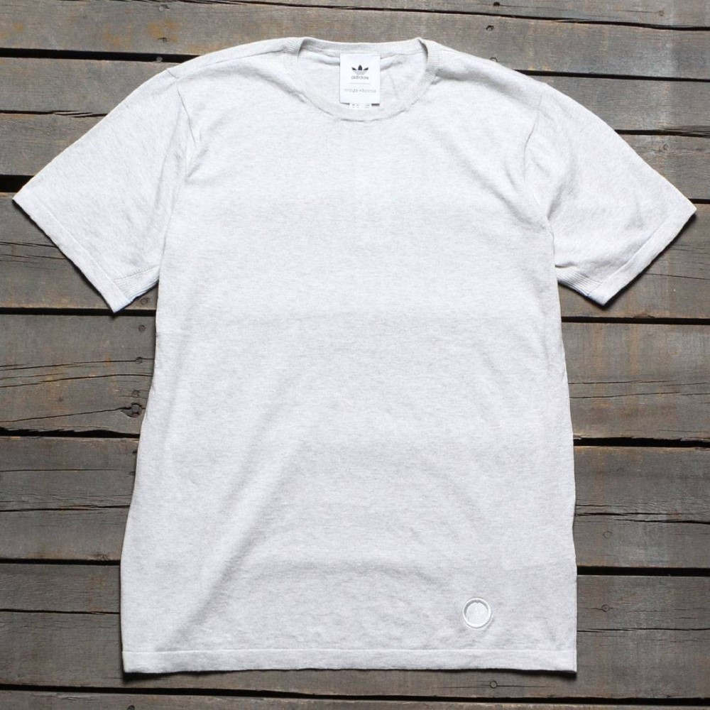 アディダス メンズ トップス Tシャツ【Adidas Consortium x Wings And Horns Knit Tee】white / off white