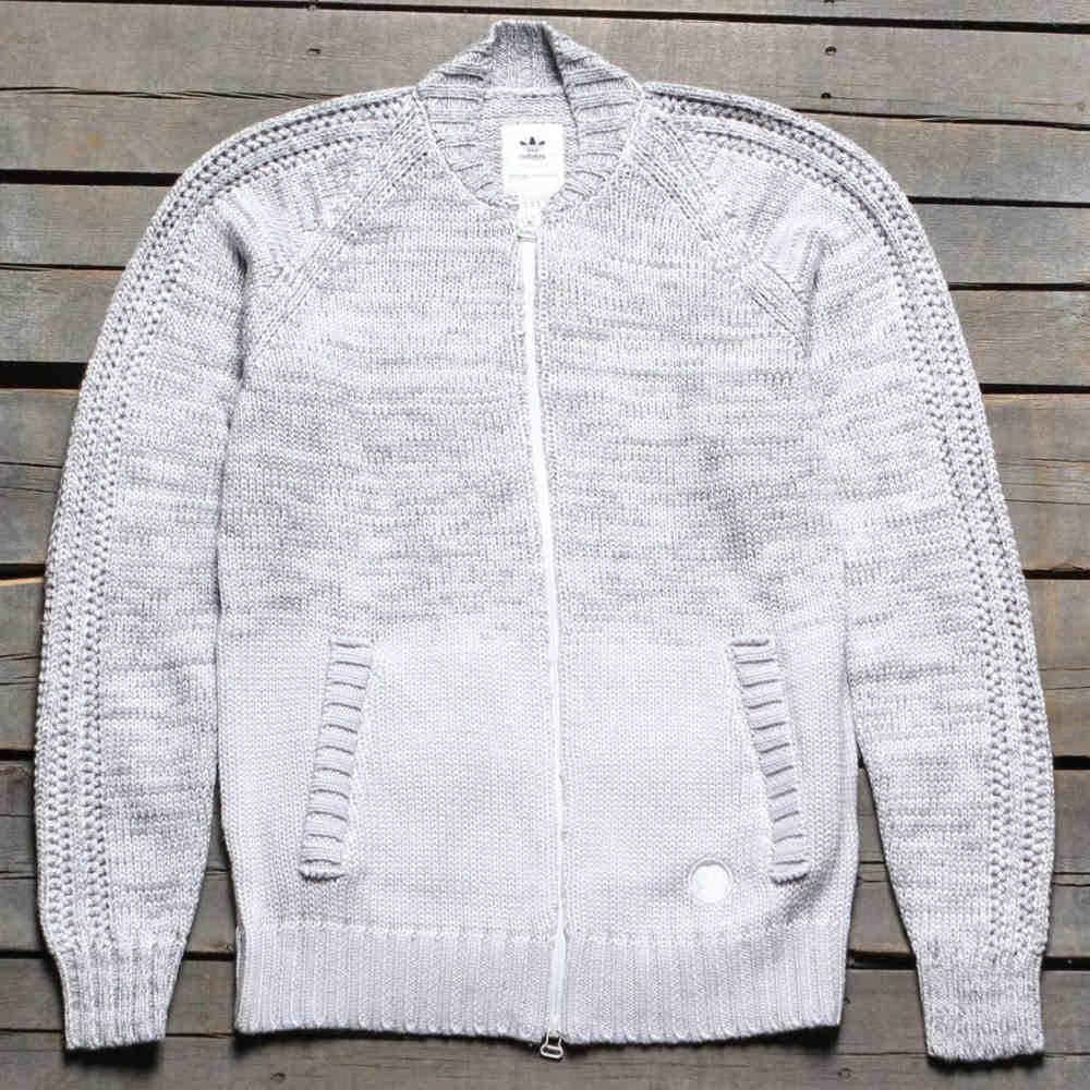 アディダス メンズ アウター ジャージ【Adidas Consortium x Wings And Horns Ombre Tracktop Jacket】white / off white