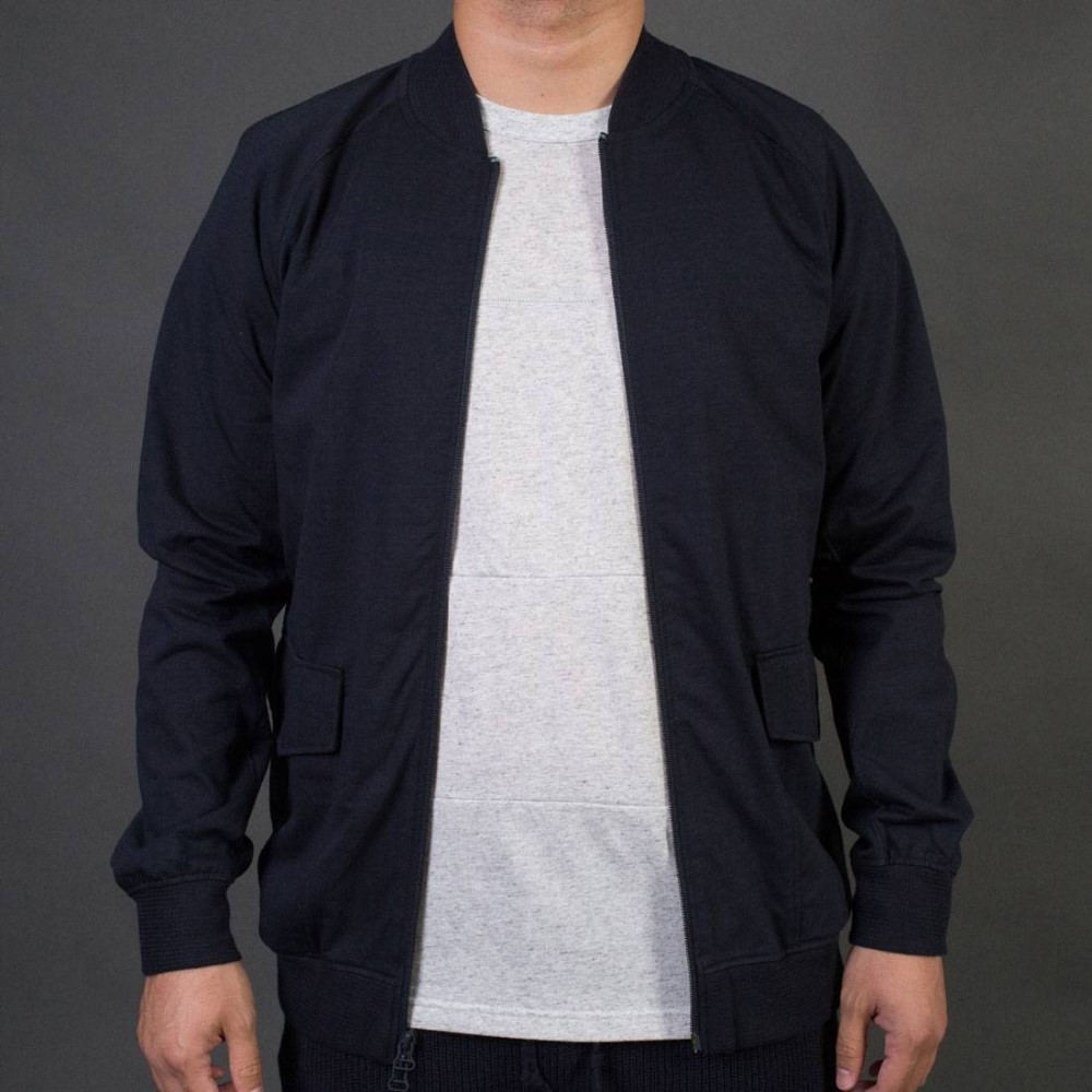 アディダス メンズ アウター ジャージ【Adidas x Wings + Horns Superstar Tracktop Jacket】navy / night navy