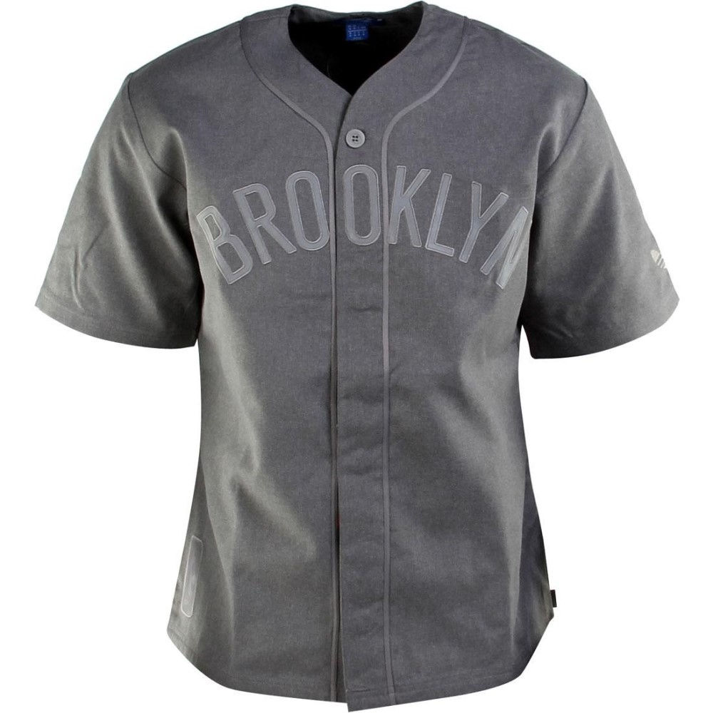アディダス メンズ トップス【Adidas NBA Brooklyn Jersey】gray / corhtr