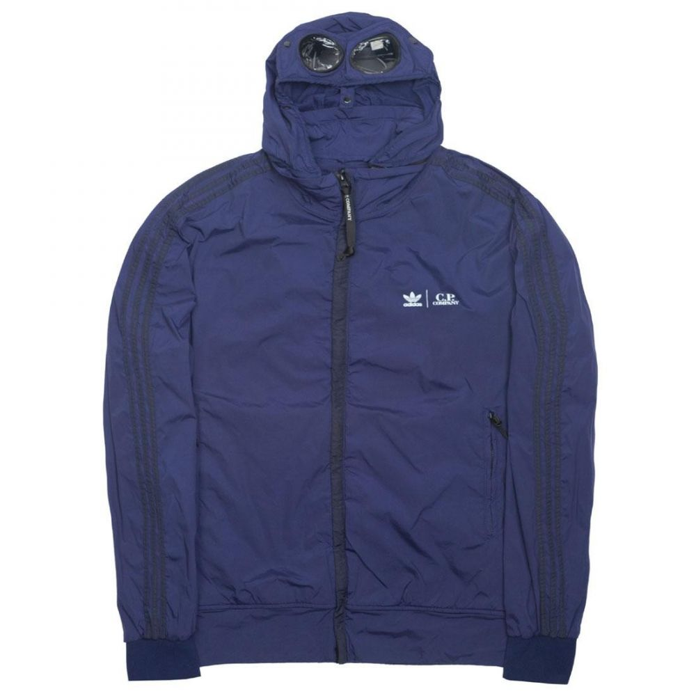アディダス Adidas メンズ アウター ジャージ【x C.P. Company Track Top Jacket】blue / night indigo