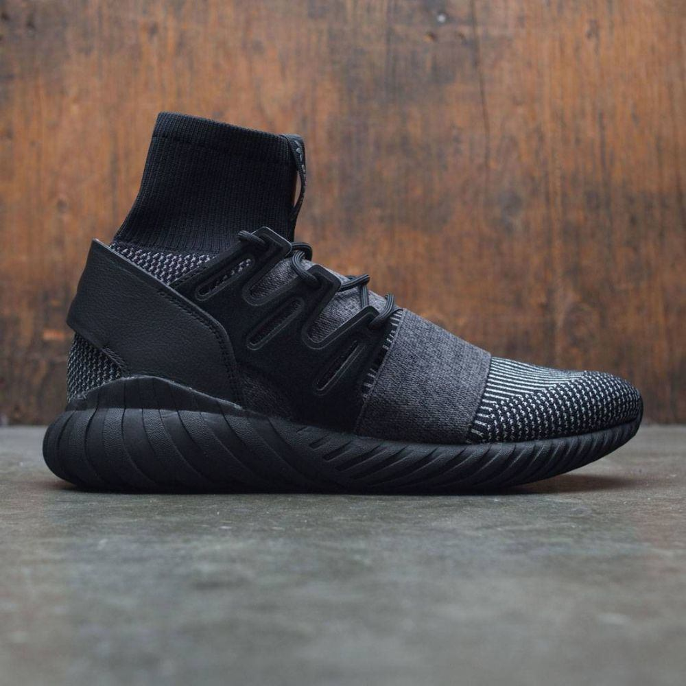 アディダス Adidas メンズ シューズ・靴 スニーカー【Tubular Doom Primeknit】black / core black / grey four