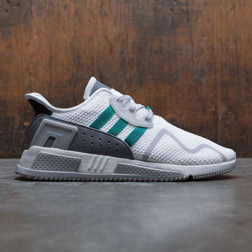 アディダス Adidas メンズ シューズ・靴 スニーカー【EQT Cushion ADV】green / core black / chalk white