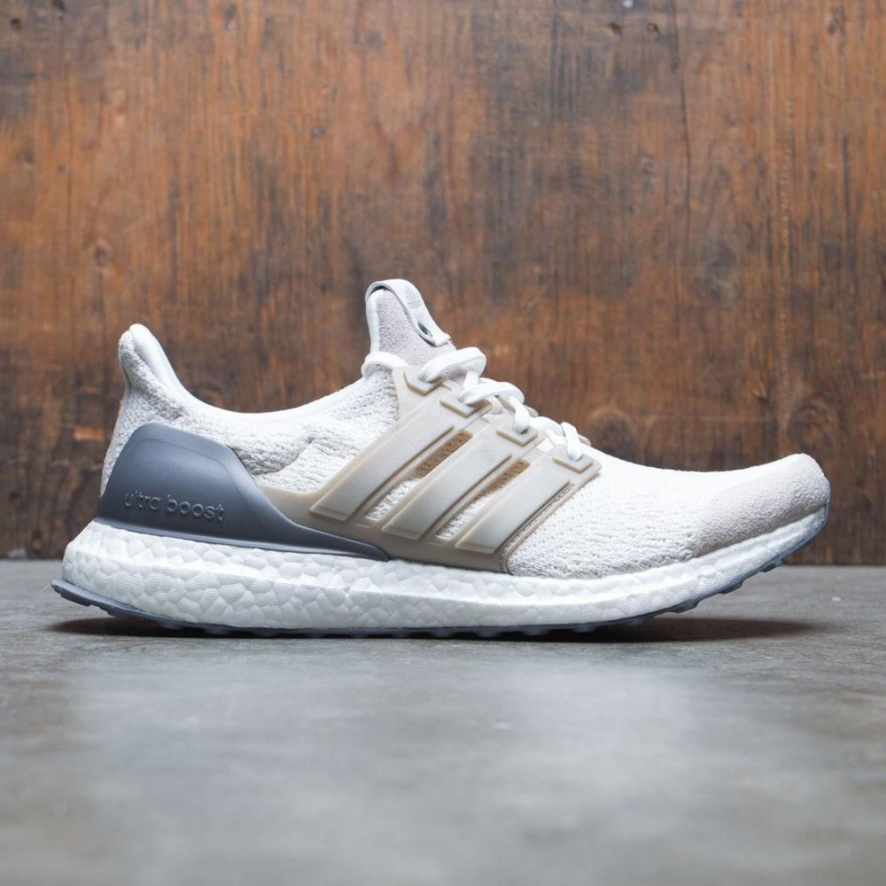 アディダス Adidas メンズ シューズ・靴 スニーカー【Consortium UltraBOOST Lux】white / vintage white / chocolate brown