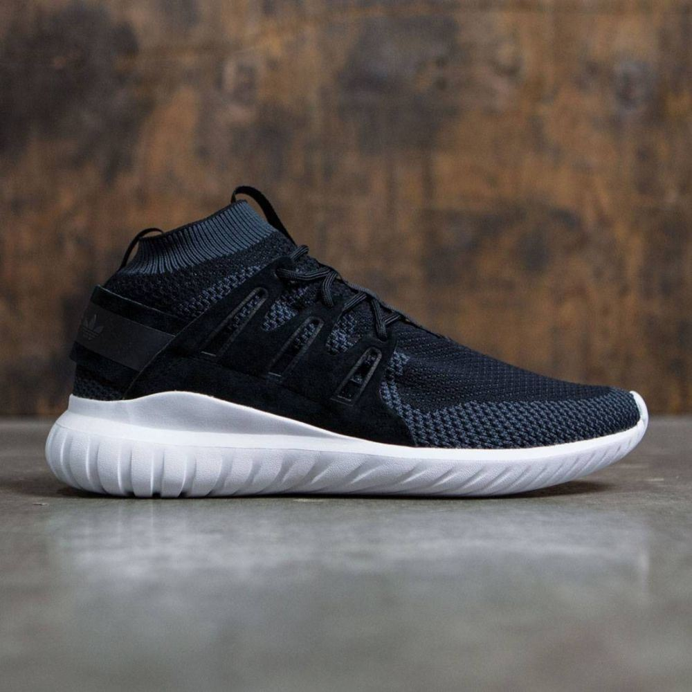 アディダス Adidas メンズ シューズ・靴 スニーカー【Tubular Nova Primeknit】black / dark grey / vintage white